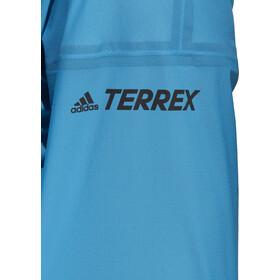 adidas TERREX Agravic 3L Jas Dames, turquoise